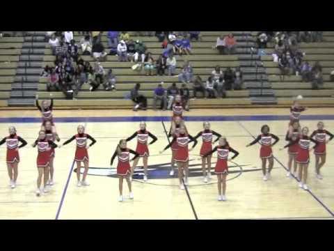 Muscle Shoals Middle School Cheerleaders Youtube