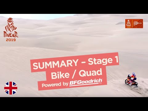 Summary - Bike/Quad - Stage 1 (Lima / Pisco) - Dakar 2019