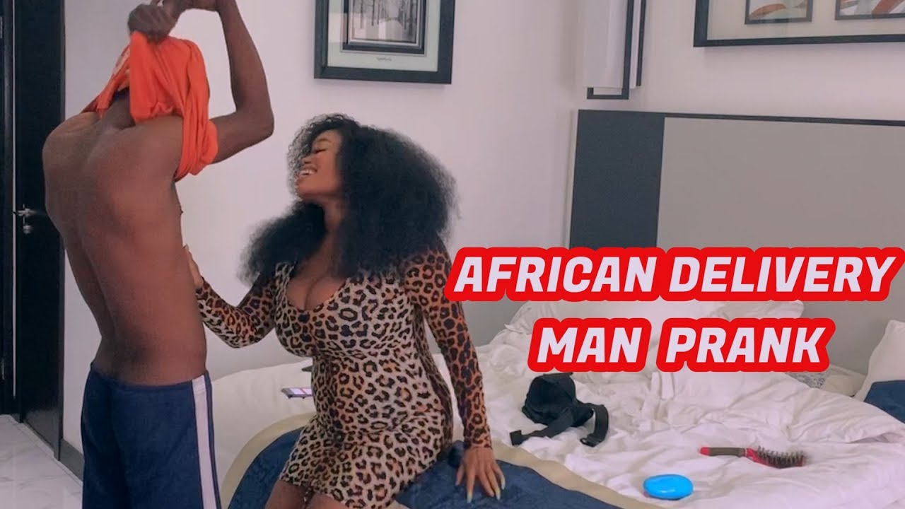 AFRICAN DELIVERY MAN PRANK