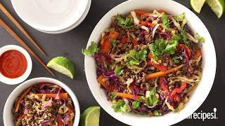 How to Make Addictive Asian Beef Slaw | Ground Beef Recipes | AllRecipes
