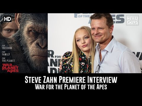 Steve Zahn Premiere Interview - War for the Planet of the Apes