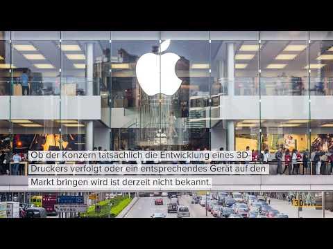 0 - Apple erhält Patent für System zum Farb-3D-Druck