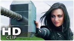 Hela zerstört Mjölnir: THOR RAGNAROK Clip (German Deutsch) Marvel 2017