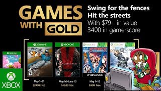 Games With Gold May 2018 Full Lineup   Xbox One Free Games May 2018