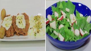 بالفيديو.. تعلمي الكبدة البانيه بصوص الكريمة وأرز بالزيتون