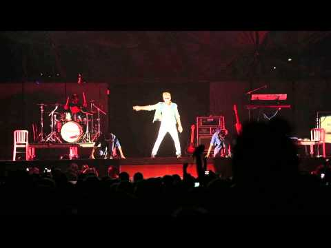 our intro with Cody Simpson opening for Justin Bieber..