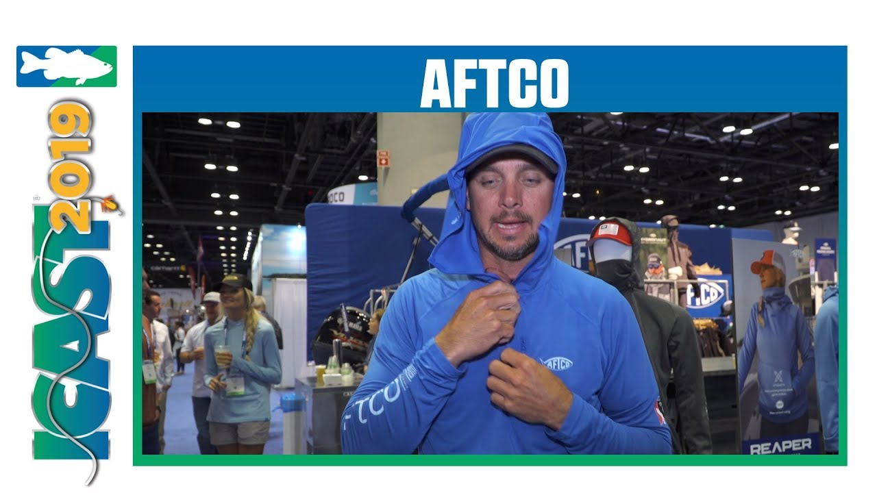 New Aftco Christie Performance Hoodie Colors  with Jason Christie | iCast 2019
