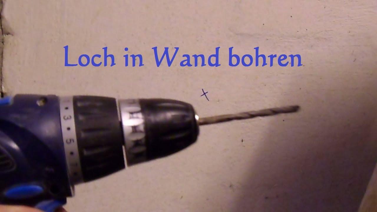 Loch In Wand Bohren : lifehack in eine wand bohren ohne staub und schmutz youtube ~ Orissabook.com Haus und Dekorationen