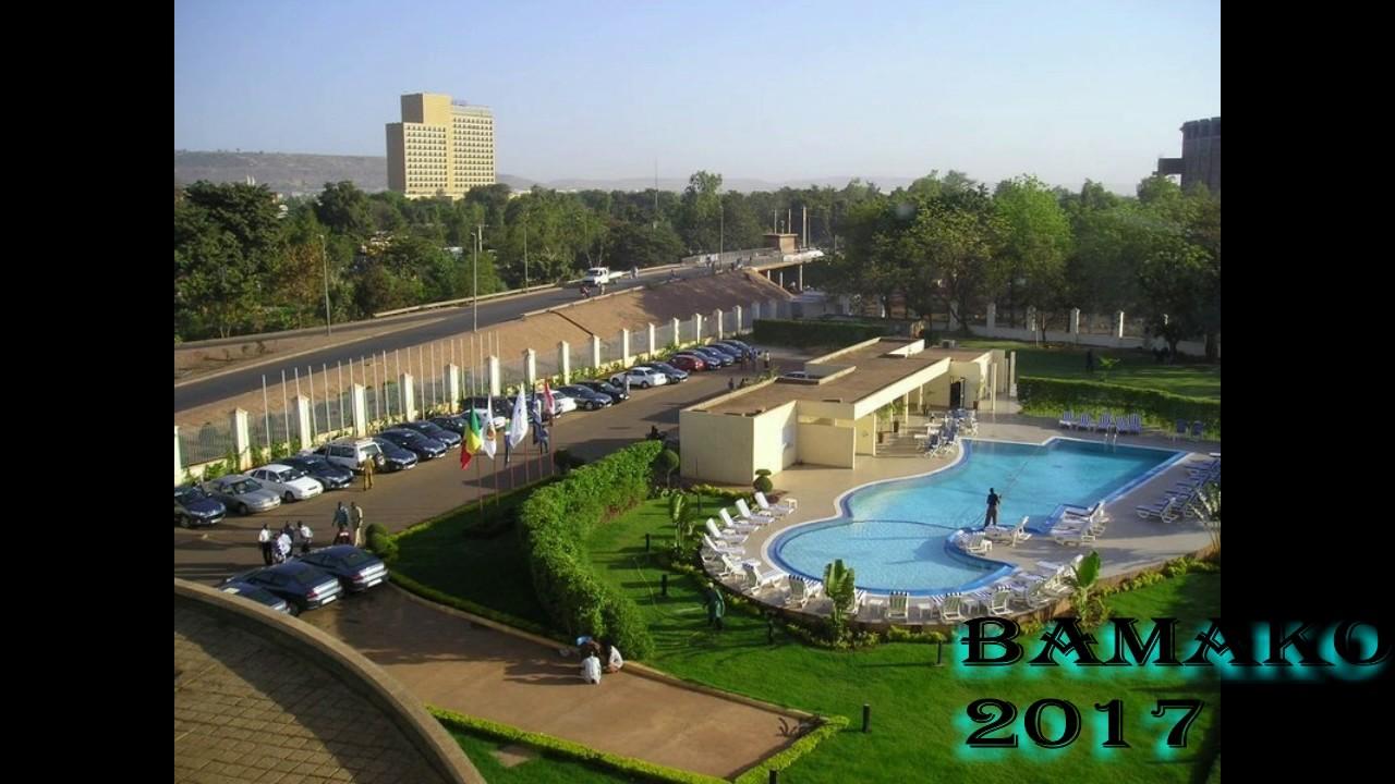 Bamako une ville moderne en 2017 youtube for Piscine mantes la ville