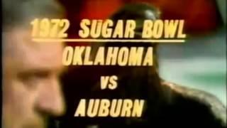 1972 Sugar Bowl Oklahoma vs Auburn