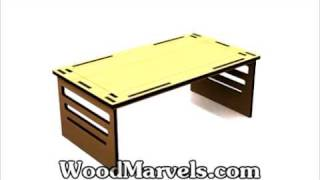 Bed Tray And Table: How To Build (hd)