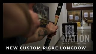New Custom Ricke Longbow!