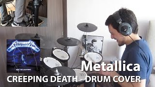 Metallica - Creeping Death - Drum cover (HD) (Using Drumless Track)