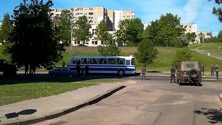Chernobyl mini-series filming