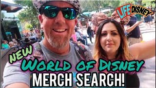 Merch Search! The NEW World of Disney Store in Downtown Disney