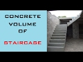 Calculation Procedure For Quantity Of Concrete Volume Of Staircase