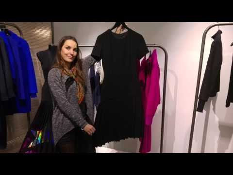 Georgia Hardinge AW16  - the black dresses with hidden secrets