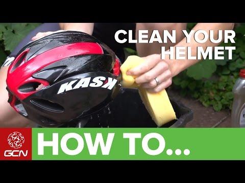 How To Clean Your Bike Helmet