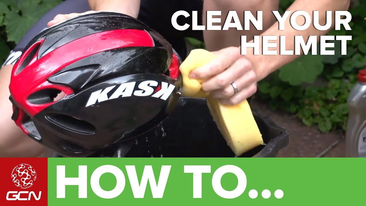How To Clean Your Bike Helmet - YouTube 0b355767b