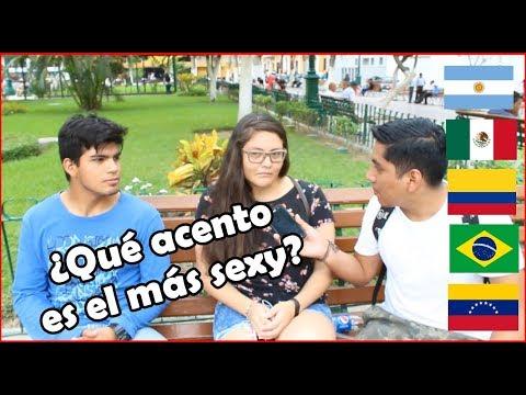 ¿Qué acento es el más sexy de Latinoamérica para los Peruanos? | Peruvian Life