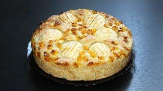 Провожаем лето. Осенний пирог с облепихой и яблоками. Вкусный рецепт