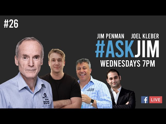 #ASKJIM Episode 26 with guests Haydar Hussein and Ali Olmez from the Jim's Cleaning Group