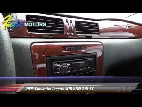 Used 2009 Chevrolet Impala 3 5l Lt Lubbock Youtube