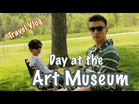 Travel Vlog: Day at the Art Museum
