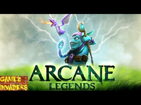 Arcane Legends Mobile/Tablet/iphone/ipad MMO Game First Impression Review