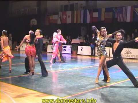 Slovenian open 2005 dancesport latin final round