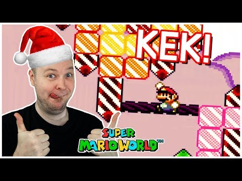 Merry KEKmas! // A Christmas Themed Kaizo Hack [Super Mario World]