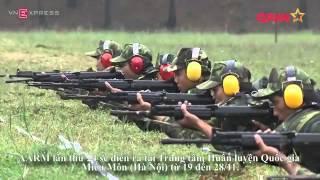 Xạ thủ Việt Nam chuẩn bị tranh tài giải quân đội ASEAN