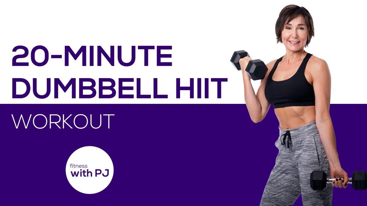 20 Min Full Body Dumbbell Hiit For Women