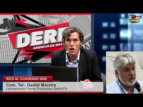 Moreira: Hay que resurgir del desastre que nos dejó Cambiemos
