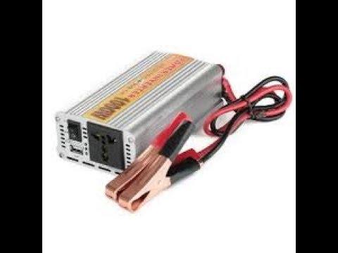 Dc 12 Volt To Ac 220 Volt Power Converter For Your Car 300W