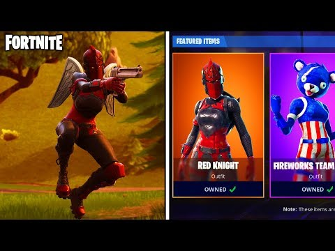 Red Knight Returns To The Item Shop In Fortnite Unlock The Rare