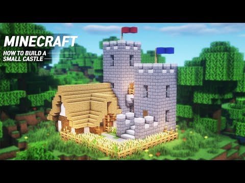 Minecraft Small Castle Tutorial How To Build In Minecraft 63