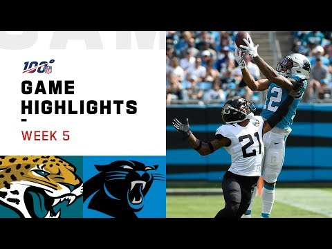 Jaguars vs. Panthers Week 5 Highlights | NFL 2019