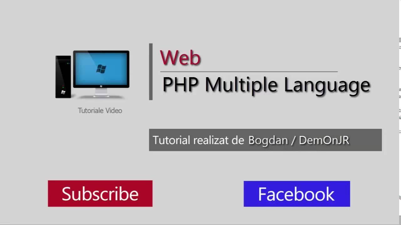 Tutorial web php multiple language translation youtube tutorial web php multiple language translation baditri Gallery