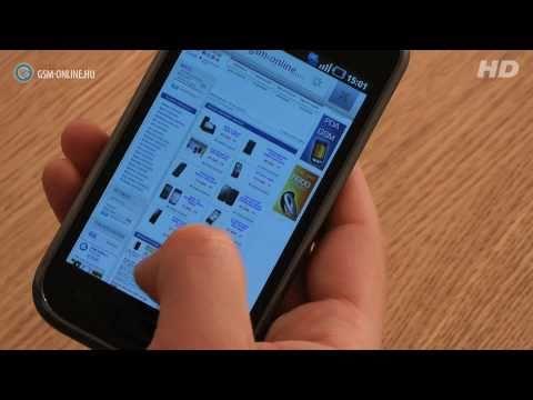 Samsung Galaxy S teszt - GSM online™