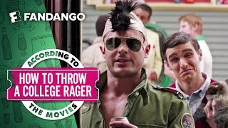 How to Throw a College Rager - According to the Movies (2016)