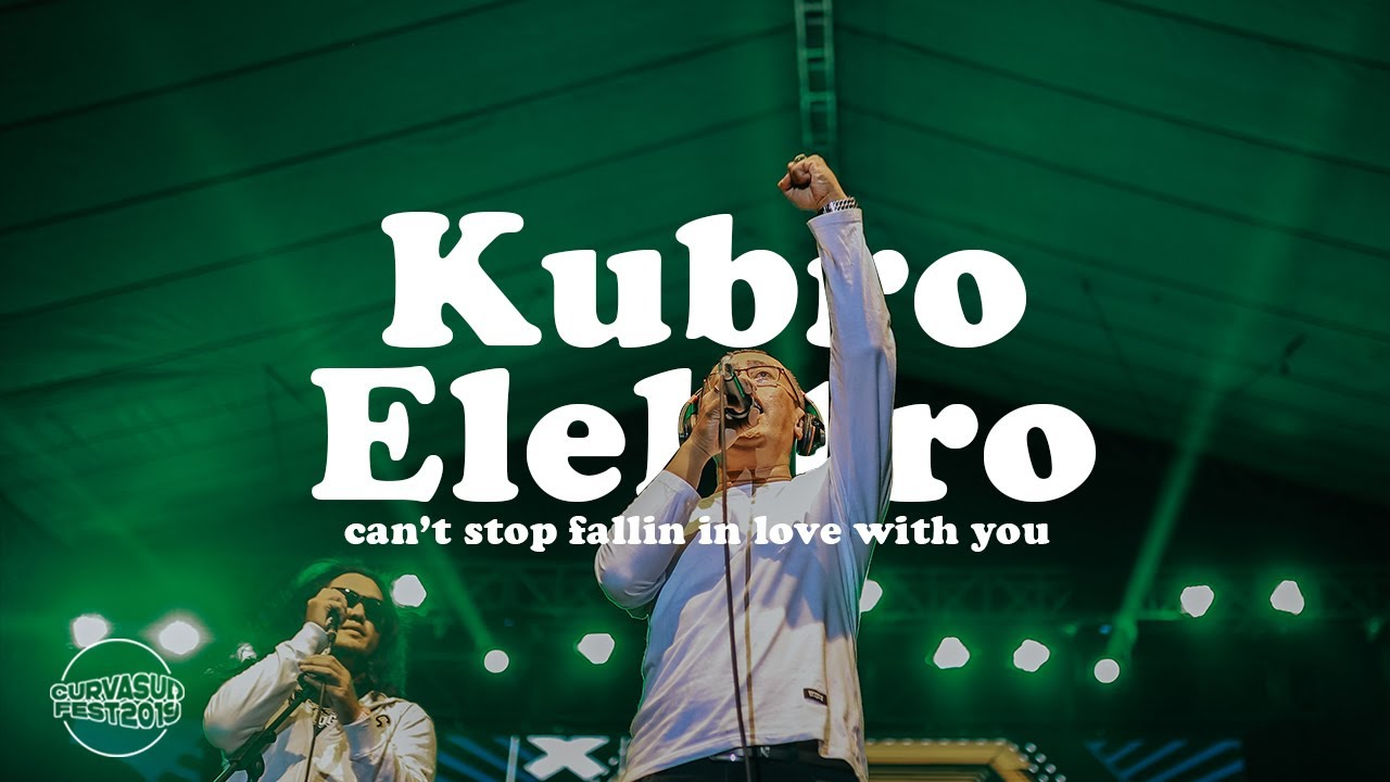 Kubro Elektro - Can't Stop Falling In Love With You [Cover] Live at Curva Sud Fest 2019