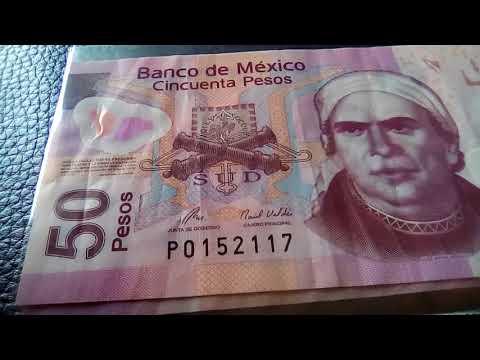CUIDADO!! no gastes estos billetes de $50 son de colección!