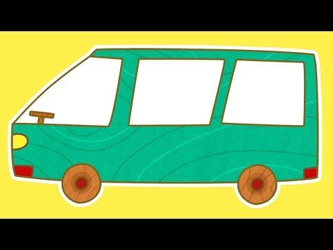 Eğitici çizgi film - Çocuklar için arabalar - Minivan