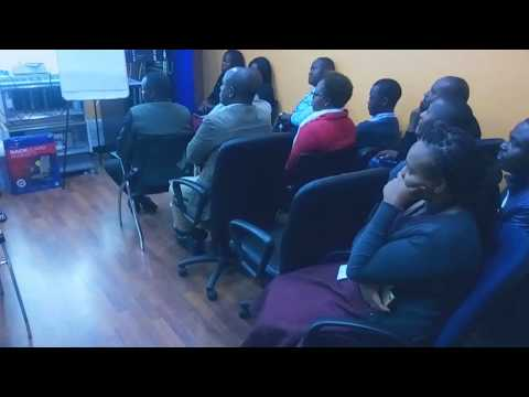 Part 1 of Office Ergonomic Training for Soulco Kenya Limited By PTmoti