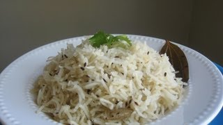 Jeera Rice (flavored Cumin Rice) Recipe