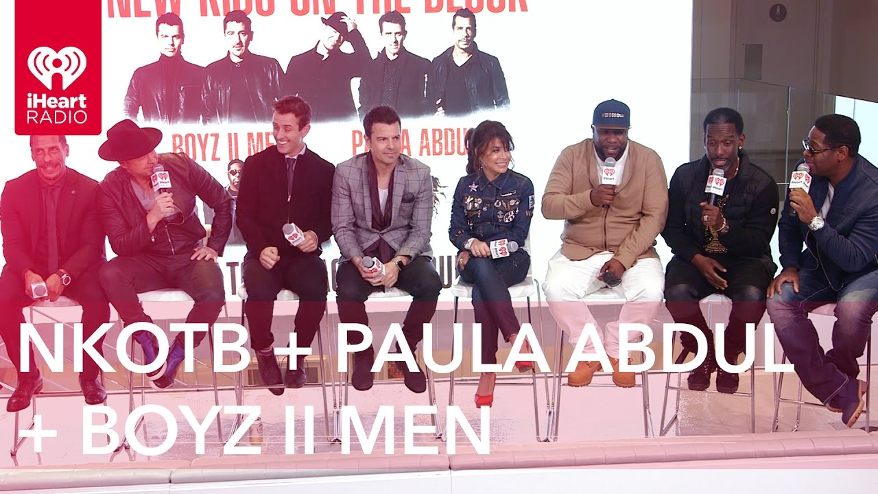 New Kids on the Block + Paula Abdul + Boyz II Men | Exclusive Interview