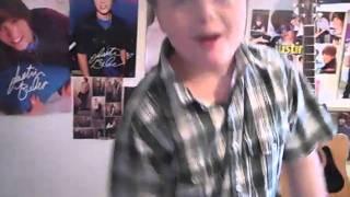 Devon singing Baby By Justin Bieber