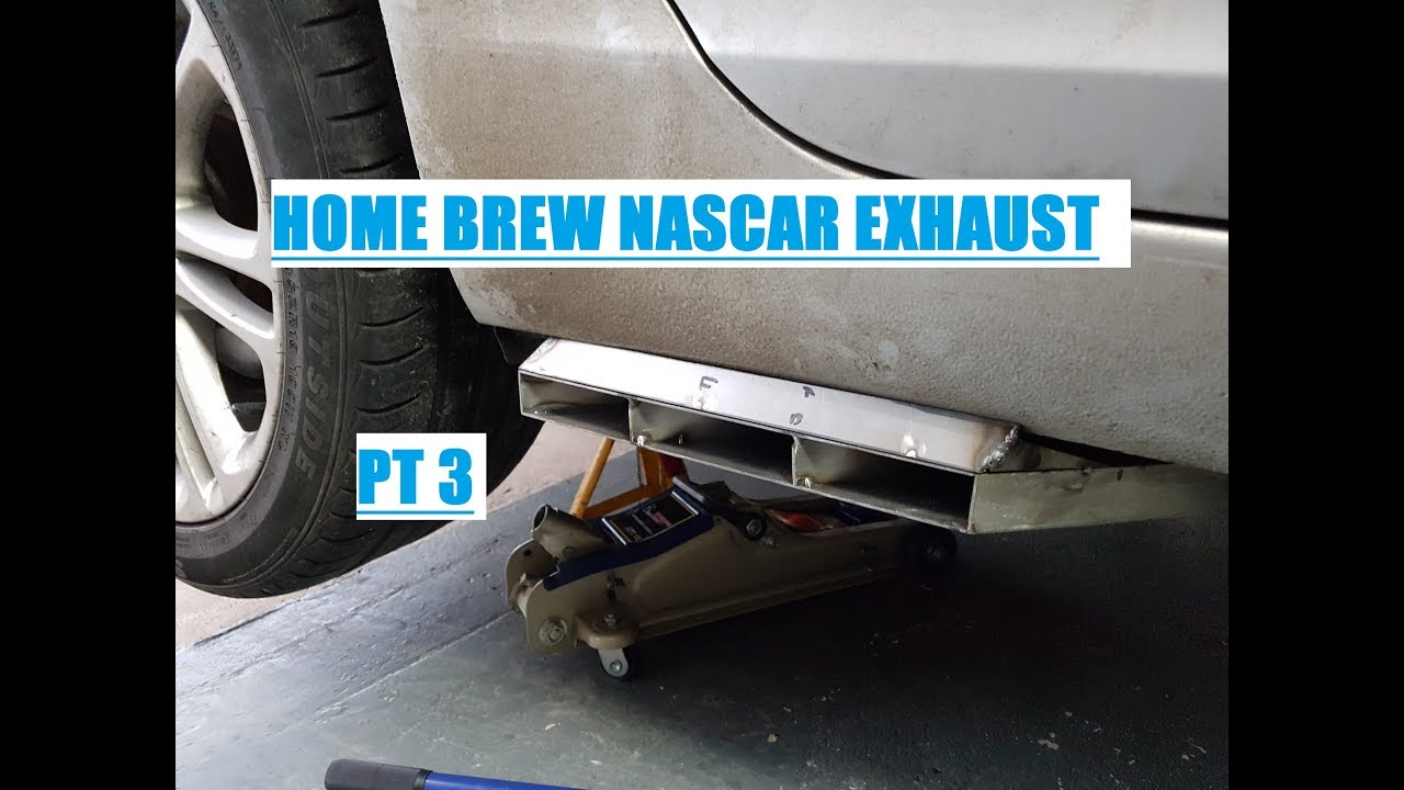 nascar style exhaust for the insignia part 3