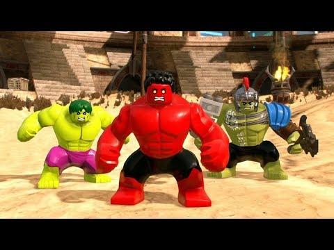 LEGO Marvel Super Heroes 2 - All Hulks Characters (Free Roam)